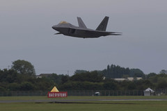 Fairford Departures 140708 (rob  68) Tags: from usa max by way paul virginia major fighter force martin display 1st air wing raptor f22 boeing lockheed departures base langley farnborough fairford moga flown a 140708