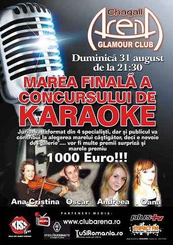 31 August 2008 » Finală karaoke