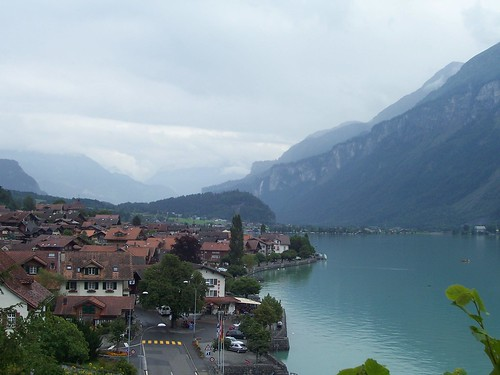 The view of Brienz from the church yard