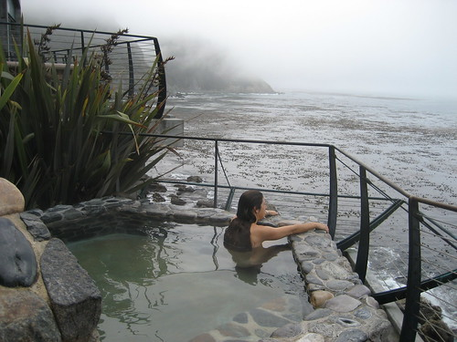 Esalen Midnight Hot Springs Implying A Well Behaved