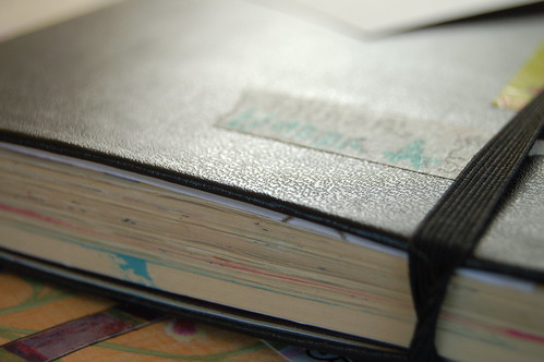 Growing moleskine diary