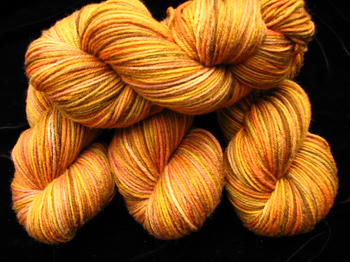 Autumn Glory on Superwash Worsted