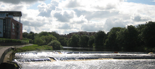 River Ayr weirs