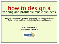 How to Design a Winning and Profitable Music Business eBook by Kavit Haria