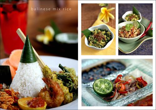 Balinese Mix Rice por toni wahid.