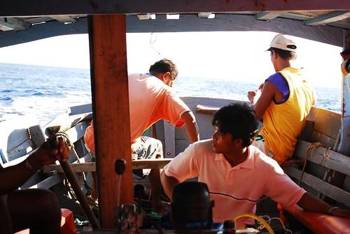 aboard the faluwa