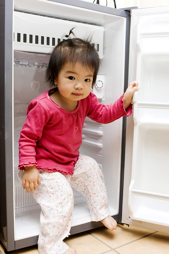 I can fit in the fridge...