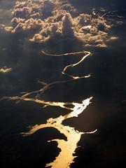 Gold Rush (Bhaskar Dutta) Tags: wallpaper cloud sun india river gold golden evening scenery flight rush thepca silhouettephotography ireboot pcagoldenlight galleryoffantasticshots