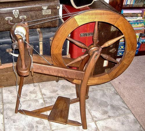 sheridan macarthur spinning wheel