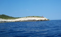 Bievo.. (bodulka) Tags: blue sea lighthouse croatia more dalmatia plavo bisevo svjetionik