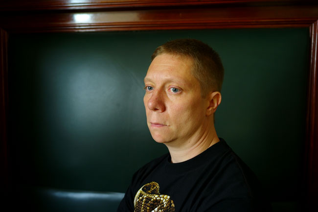 Писатель Кирилл Бенедиктов, 2008