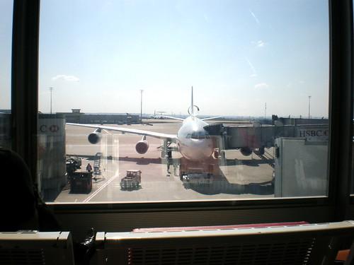 Airplane at CDG