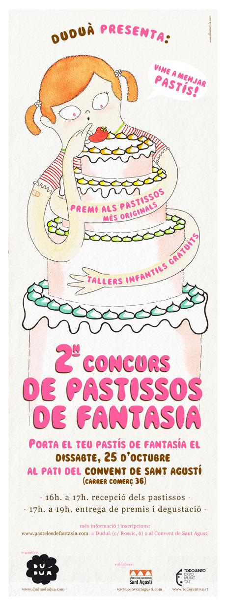 Duduá presenta el 2º Concurso de Pasteles de Fantasía