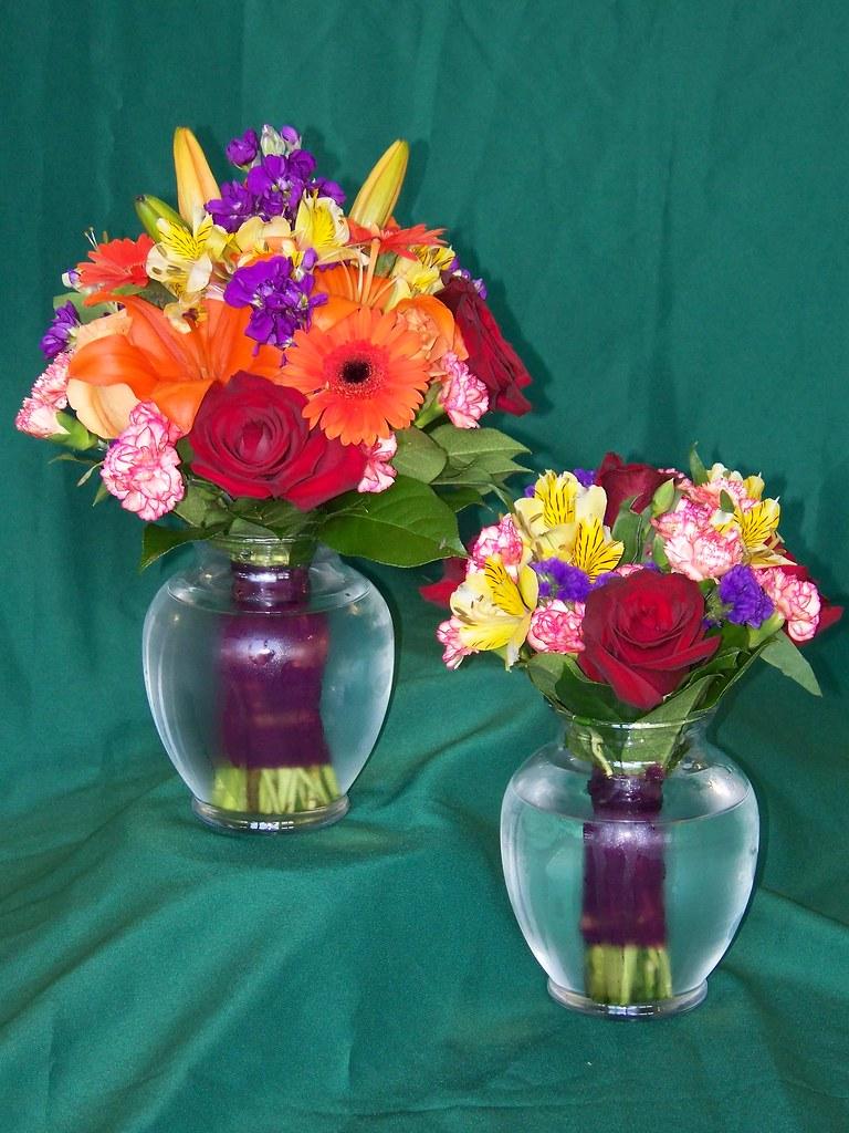 Bridesmaid and Jr. Bridesmaid Bouquet