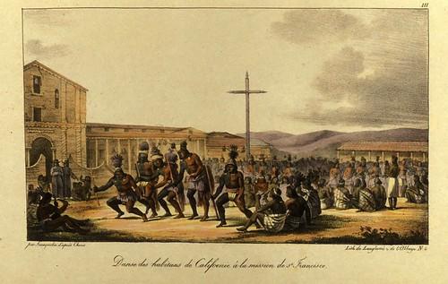 004- Danza de los habitantes de California en la mision de San Francisco
