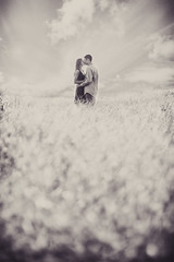 (cs.foto (simplybloomphotography)) Tags: love field clouds composition vintage engagement couple energy dof muted csfoto simplybloomphotography wwwsimplybloomphotographycom