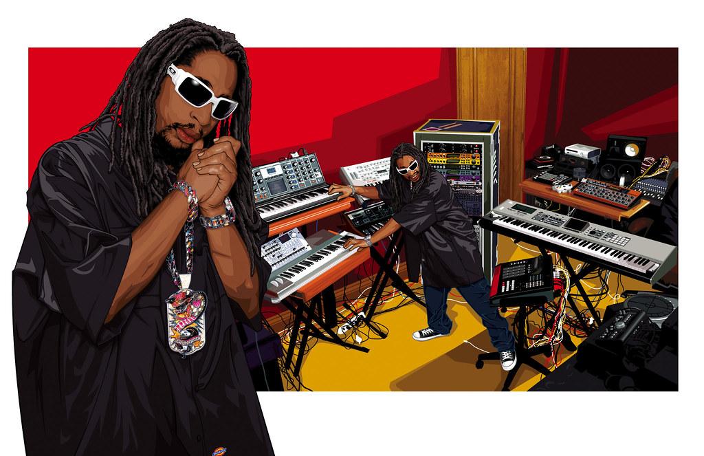 Oakley Lil' Jon Art [Ad 13]