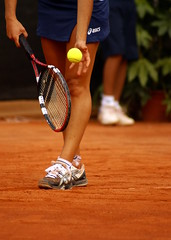 (ri)cominciare (budiulik) Tags: start play tennis service begin servizio battuta