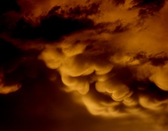 Teddy Cloud (Menazort) Tags: bear storm weather clouds dark golden darkness teddy ominous smooth atmosphere sexual