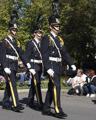Columbus Day Parade & Italian Festival, Albany NY (Chicago_Tim) Tags: park new york columbus newyork festival washington uniform day military parade albany italiam christianbrothersacademy