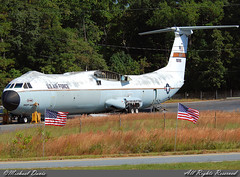 USA - Air Force Lockheed C-141B Starlifter (66-0186) (Michael Davis Photography) Tags: airplane photography aviation flight jet marietta starlifter cargoplane militaryjet cargojet mge militarytransport dobbinsarb kmge c141bstarlifter lockheedc141b dobbinsairforcereservebase lockheedc141 660186