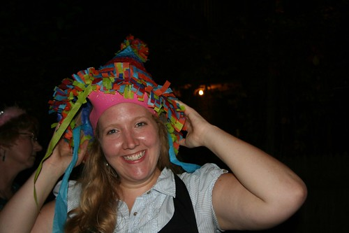 Pinata hat, my favorite kind