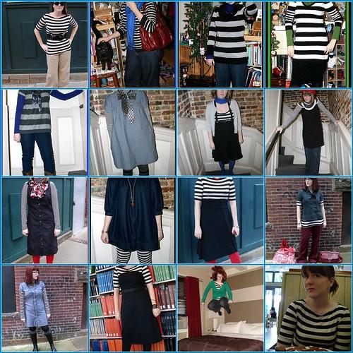 I like black and white stripes
