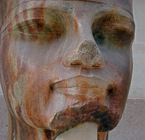 Head from a statue of Amenhotep III