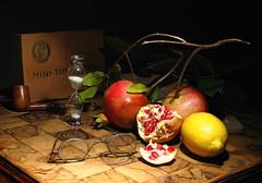 Pomegranates (filippo rome) Tags: stilllife pomegranate naturamorta