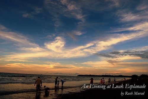 Sunset at Luak Esplanade