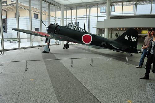 Warbird picture - Mitsubishi A6M Zero at Yasukuni