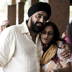 we are family.... (manorr) Tags: wedding sikhs aunty