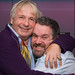 Christopher Biggins with Chris Moyles
