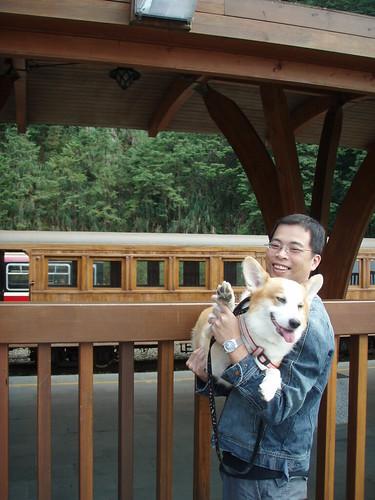 木製小火車