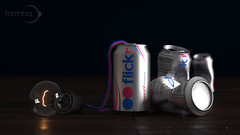 flickr: Energize your mind (Formha) Tags: idea 3d energy flickr dof drink can lightwave cgi lampadina lattina maxwellrender fabioleo formha