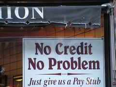 no credit