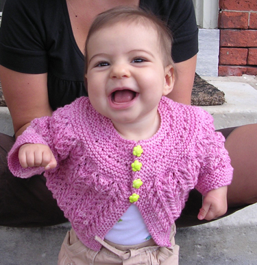 Viv's February Baby Sweater