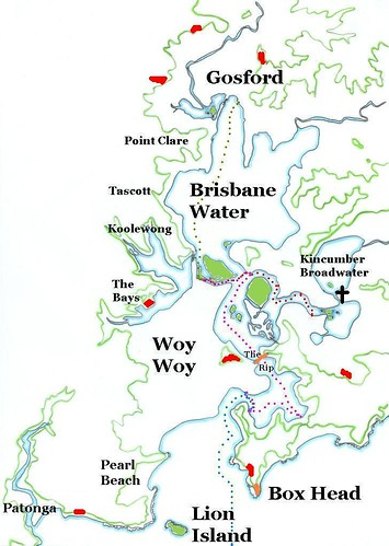 Rock Climbing Sites of Brisbane Water