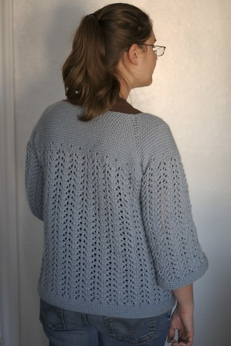 February Lady Sweater Back