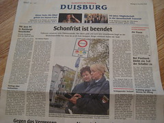 WAZ Duisburg: Schonfrist ist beendet
