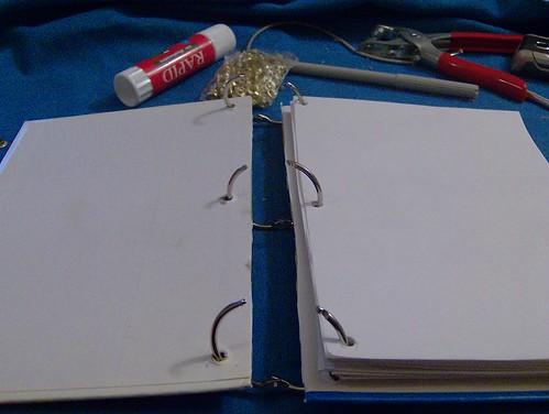 cuaderno anillas