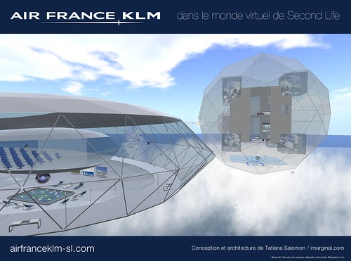Air France - KLM / Second Life
