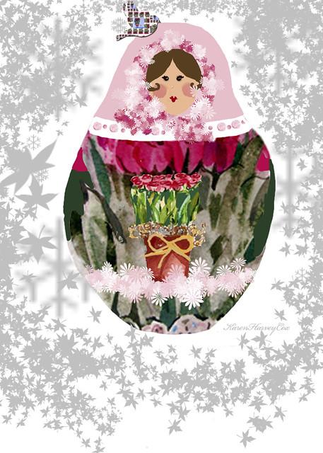 Babushka-with-rose-birdie