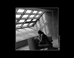 Rahyll's corner (Inkblots) Tags: light shadow portrait people bw monochrome lines geometry space olympus scene zuiko causes myfaves metromanila creativevision olympuse510 dingfuellos advocacies inkblots dgfmono pwc31 mycreatiivevision
