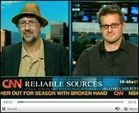 Dan Mirvish y Eitan Gorlin en la CNN
