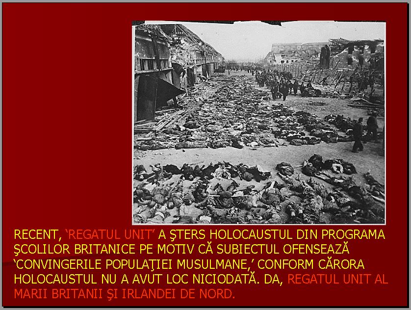 Dezinformare (şi minciună) Holocaust