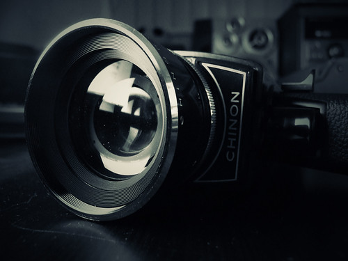 Chinon 8mm Movie Camera