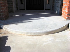 Before Front Edge of Entry (Impressive Restorations) Tags: oklahoma oklahomacity concreteart concretedesign impressiverestorations concreteresurfacing permacrete danielware jorgeware stephanieware paulaamold wwwimpressiverestorationscom 4058245910