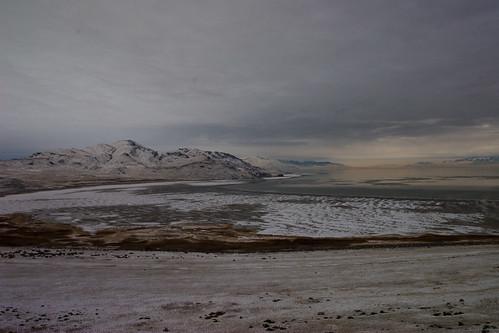 Antelope Island, in the Great Salt Lake, Utah