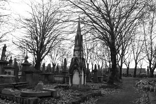 Key Hill Cemetery by Nicobinus on flickr